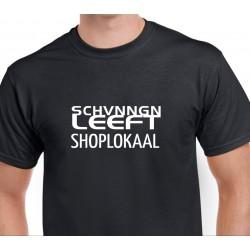 T-shirt bedrukt voorzijde...